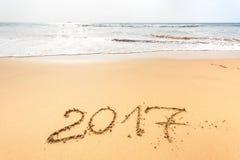 Szczęśliwy nowy rok 2017 Zdjęcie Stock