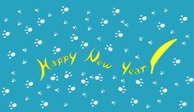 Szczęśliwy nowy rok 2016 - banan! Zdjęcie Stock