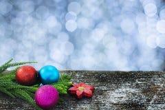 Szczęśliwy nowy rok, boże narodzenia, wesoło boże narodzenia Obrazy Stock