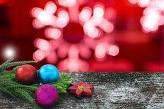 Szczęśliwy nowy rok, boże narodzenia, wesoło boże narodzenia Fotografia Stock