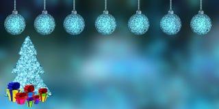 Szczęśliwy nowy rok, 3d rendering Zdjęcie Stock