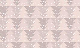 Szczęśliwy nowy rok i xmas bezszwowy wzór ilustracji