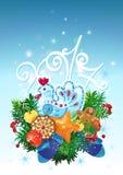 Szczęśliwy nowy rok kogut Fotografia Royalty Free