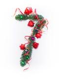 Szczęśliwy nowy rok liczba 7 napisze Fotografia Stock