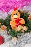 Szczęśliwy nowy rok, rok kogut Fotografia Stock