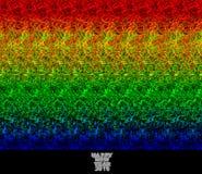 Szczęśliwy nowy rok 2015 - stereogram Zdjęcia Stock