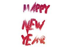 Szczęśliwy Nowy Rok - Wektorowa Ilustracja Zdjęcia Stock