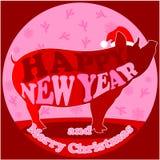 Szczęśliwy Nowy Year1 obrazy royalty free