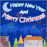 Szczęśliwy Nowy Year4 zdjęcia royalty free