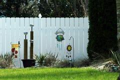 Szczęśliwy ogrodzenie Obrazy Stock
