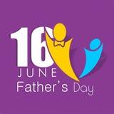 Szczęśliwy ojca dnia tło. Obraz Royalty Free