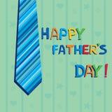 Szczęśliwy ojca dzień Fotografia Royalty Free