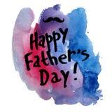 szczęśliwy ojciec Fotografia Royalty Free