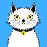 Szczęśliwy Optymistycznie kot zdjęcia royalty free