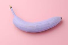 Szczęśliwy osamotniony banan Zdjęcia Royalty Free