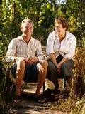 szczęśliwy para senior Fotografia Royalty Free