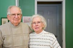 szczęśliwy para senior Obraz Stock