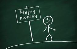 Szczęśliwy Poniedziałek Obrazy Stock