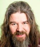 Szczęśliwego mężczyzna portreta definici zieleni wysokiego tła istni ludzie Zdjęcia Stock