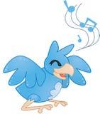 Szczęśliwy ptak Fotografia Stock