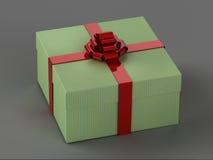 Szczęśliwy pudełko Fotografia Stock