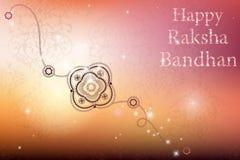 Szczęśliwy Raksha Bandhan świętowanie Obraz Royalty Free