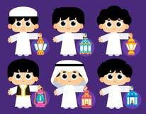 Szczęśliwy Ramadan Obraz Royalty Free