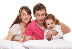 szczęśliwy rodzinny rodziny szczęście wiele mój portfolio Obrazy Royalty Free