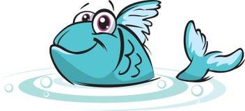 szczęśliwy ryb Zdjęcia Stock