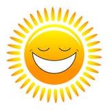 szczęśliwy słońce Obraz Stock