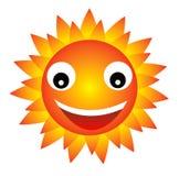 szczęśliwy słońce Zdjęcia Royalty Free