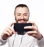 Szczęśliwy selfie Fotografia Royalty Free