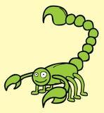 Szczęśliwy Skorpion ilustracja wektor