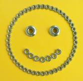 Szczęśliwy Smiley dokrętka Zdjęcia Stock