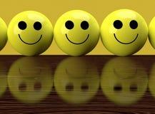 szczęśliwy smutny Zdjęcie Stock