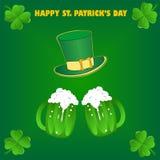 Szczęśliwy st.Patrick dzień Zdjęcie Stock