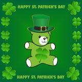 Szczęśliwy st.Patrick dzień Fotografia Royalty Free