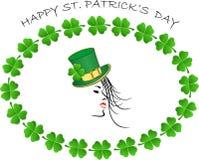 Szczęśliwy st.Patrick dzień Obrazy Royalty Free