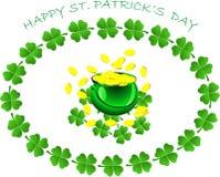 Szczęśliwy st.Patrick dzień Obraz Stock