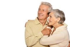 szczęśliwy stare pary Zdjęcie Royalty Free