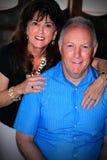 szczęśliwy stare pary Obraz Royalty Free