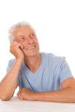 Szczęśliwy starszy mężczyzna zdjęcia royalty free