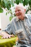 Szczęśliwy starszy mężczyzna Obraz Stock