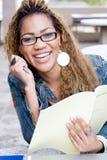 szczęśliwy student college Zdjęcia Royalty Free