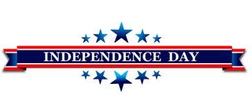 Szczęśliwy 4th Lipa usa dzień niepodległości Zdjęcie Royalty Free