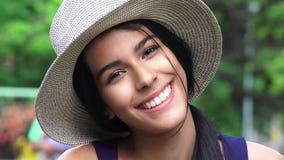 Szczęśliwy Uśmiechnięty Żeński Nastoletni zdjęcie stock