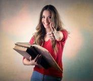 szczęśliwy ucznia obraz stock