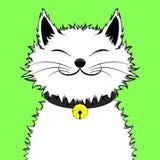 Szczęśliwy Uroczy kot obrazy royalty free