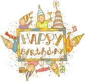 szczęśliwy urodziny Obraz Royalty Free