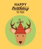 szczęśliwy urodziny Fotografia Stock